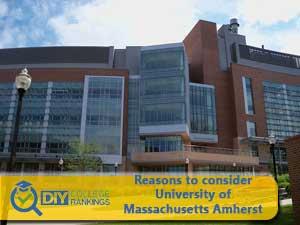 University of Massachusetts Amherst campus