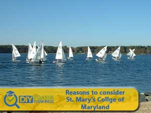 St. Mary's College of Maryland campus