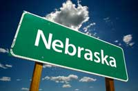 Highway Sign for Nebraska Colleges