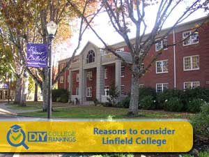 Linfield College campus