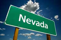 Nevada HIghway Sign