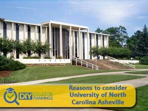 Univresity of North Carolina Asheville campus