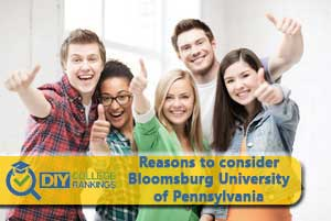 Students happy about Bloomsburg University of Pennsylvania