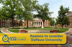 DePauw university campus