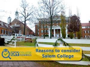 Salem College campus