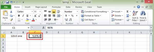Excel copying formatting results