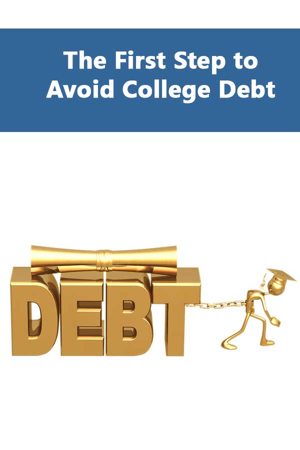Avoid college debt by choosing schools that don't have as many students with non-federal student loans.
