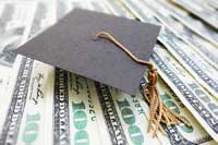Money representing colleges for full pay students