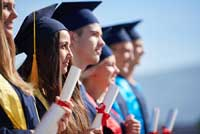 College graduates representing pubic university graduation rates