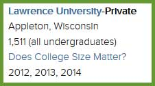 Section 1 College Profile