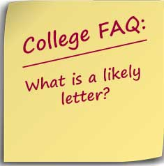 Post-it note asking What is a likely letter?