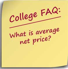 postit note asking what is average net price