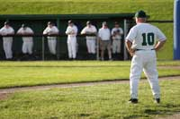 Baseball coach representing what baseball coaches want