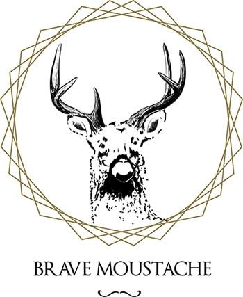 Brave Moustache Logo
