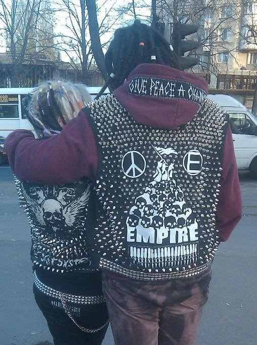punx with vests