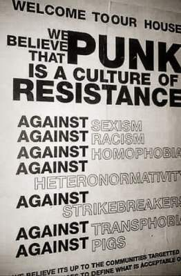punk is a culture of resistance