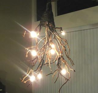 Diy Rustic Tree Branch Chandelier