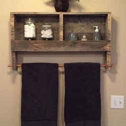 The Best 60+ DIY Pallet Projects for Your Bathroom