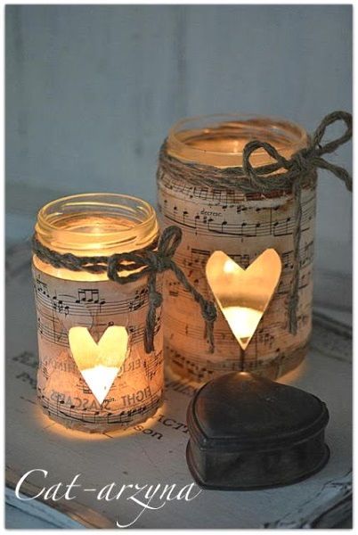 50 Cute DIY Mason Jar Crafts - DIY Projects for Anyone