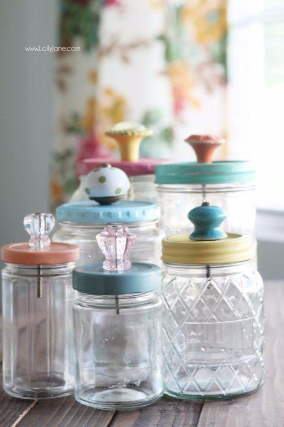 Mason Jar Crafts Part - 34: 50 Cute DIY Mason Jar Crafts U2013 DIY Projects For Anyone