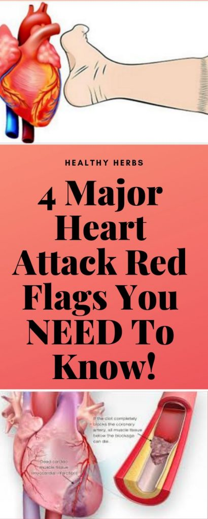 4 MAJOR HEART ATTACK RED FLAGS YOU NEED TO KNOW!