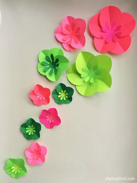 craft making flower paper   Haci saecsa co 12 step by step diy papers made flower craft ideas for kids diy