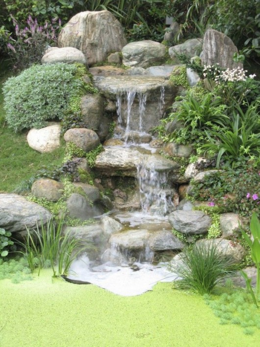 DIY Garden Ideas: 10 Garden Waterfalls and Inspiration Ideas on Waterfall Ideas For Garden id=96816