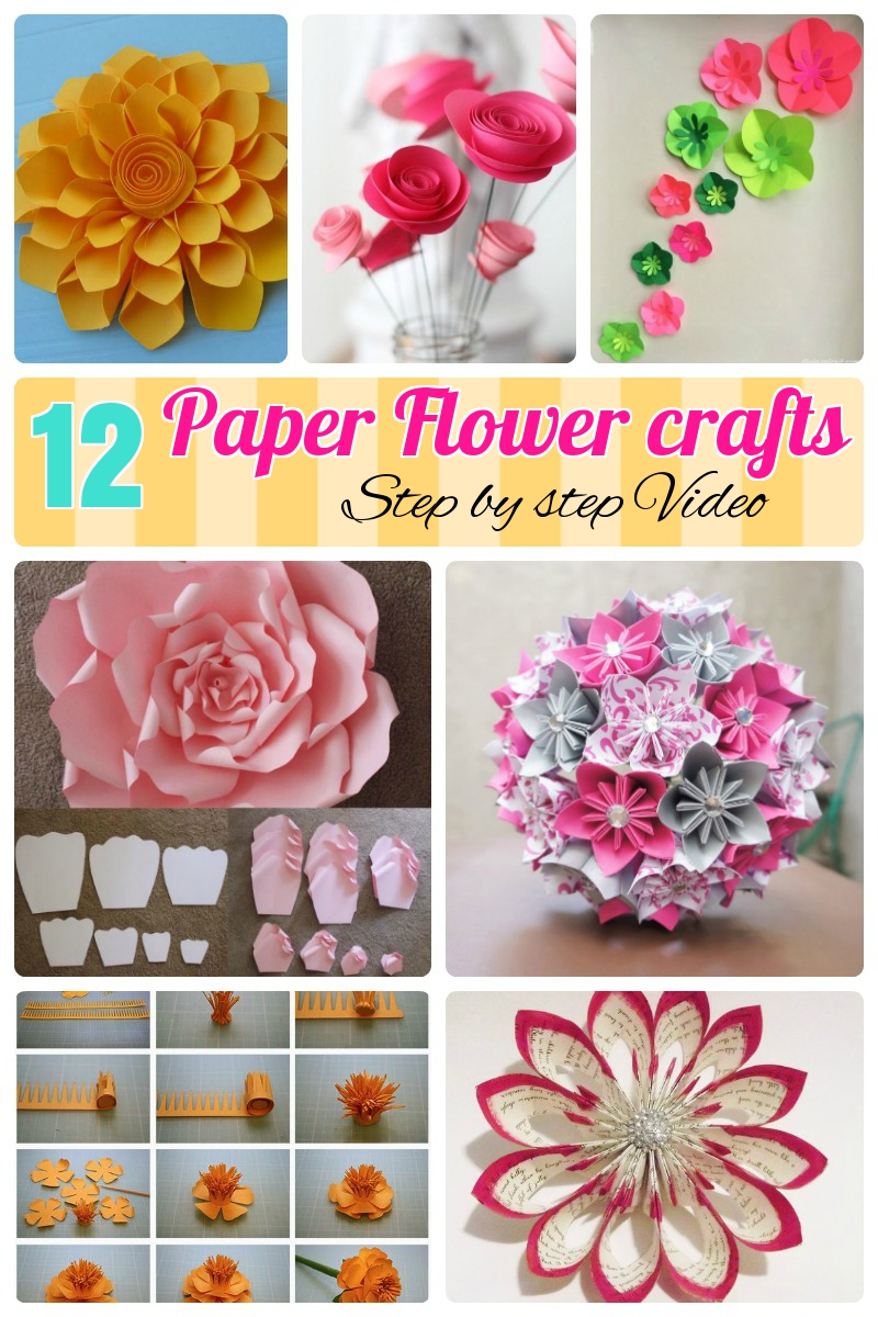 Paper Cutting Patterns Flower Step By Kayaflower Co