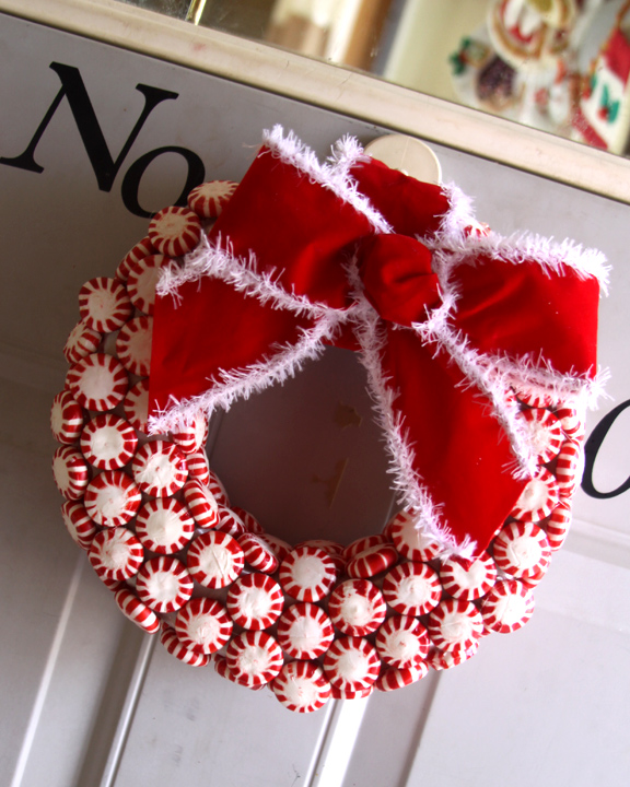 Made Crafts Wreath Ornaments Christmas