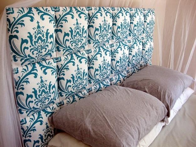 12 aesthetic headboards for your bedroom: diy fabric headboards
