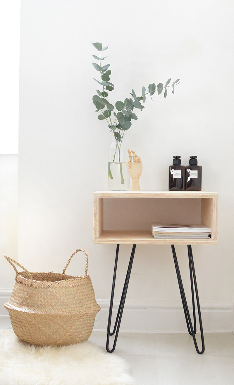 30 Super Cool Diy Nightstands Nightstand And Bedside Table