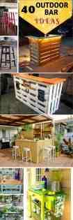 40 Diy Outdoor Bar Ideas Inexpensive Bar Setting And Table Ideas