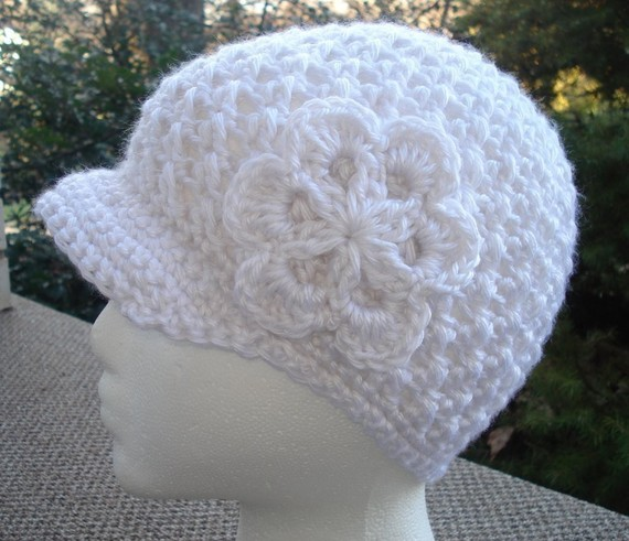 Crochet Newsboy Hat Pattern. Download to Make a Beanie, Newsboy Hat or Cap. by jjcrochet