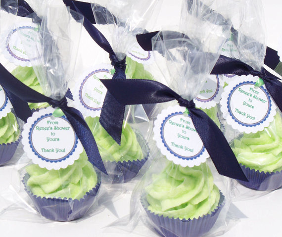 Party Favors Cupcake Bath Bomb Minis with Whipped Soap Frosting Set of 50 Individually Wrapped (Vegan Friendly) COMPLIMENTARY SHIPPING by fbessentials