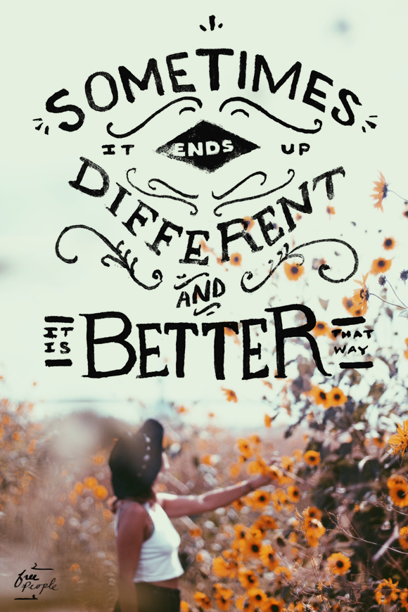 Monday Quote: It's Better That Way