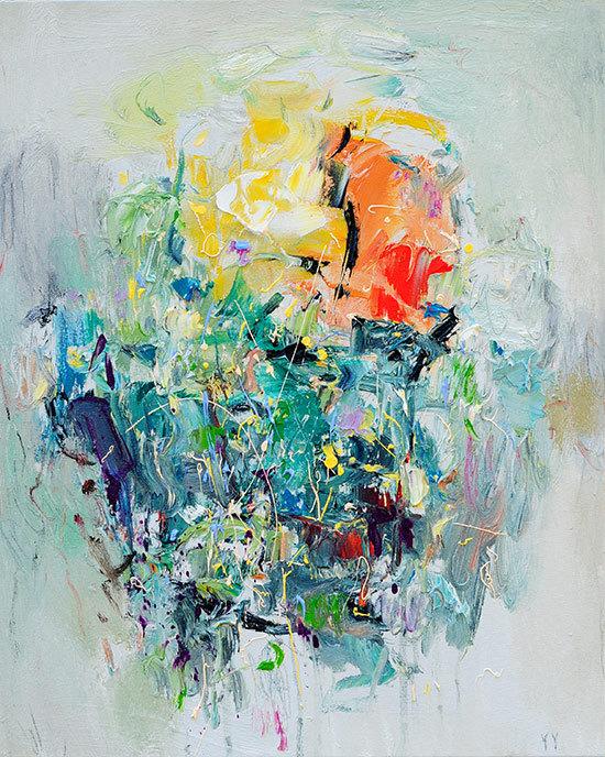 Fine Art Giclee PRINT 16×20 -Sun May by siiso