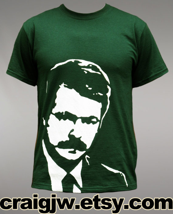 Ron Swanson ICON T-Shirt by CraigJW