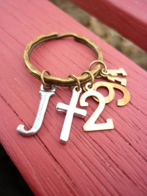 Christian Keyring Jeremiah 29: 11-For I know the plans I have for you by ThisWordsForYou