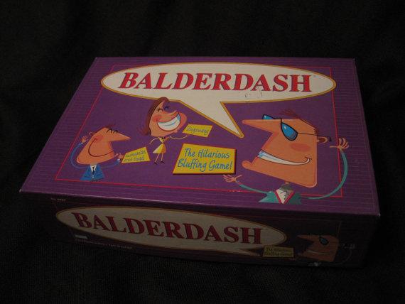 Vintage Balderdash Board Game by thefarmroad