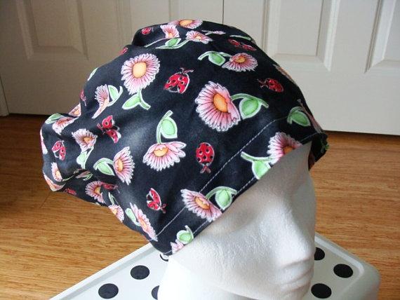 Daisy Delight Hattie ………….. Surgical Scrub Hat … Chefs Hat by themaddesthatter