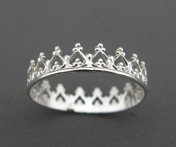 Silver Ring – You Are My Princess by thesilversmith