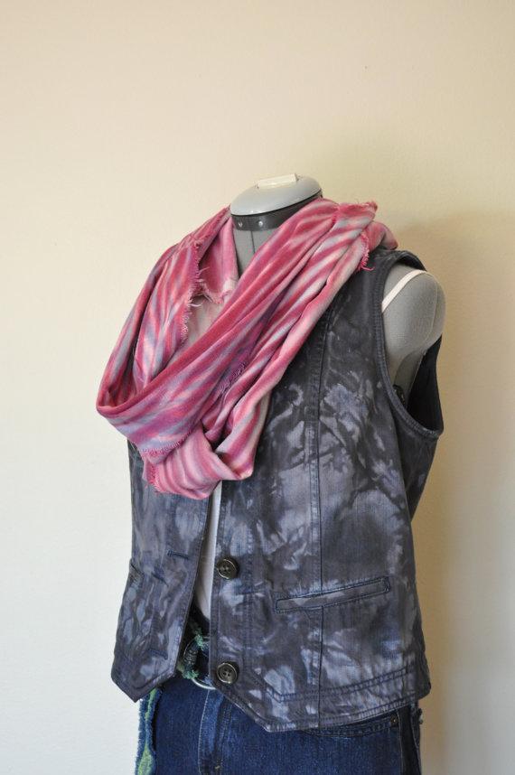 Black Medium Denim VEST – Charcoal Blue Hand Dyed Upcycled Liz Claiborne Jeans Denim Vest – Adult Women's Medium (40 chest) by DavidsonStudio