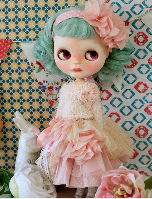 Sugarbabylove – Pink Queen set for Blythe by SugarbabyloveDoll