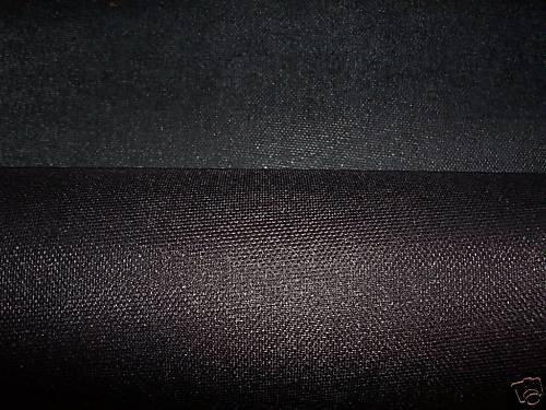 Buckram, 29- inch Black Heavy-weight Stiffening, 2 yards by cottagefabrics