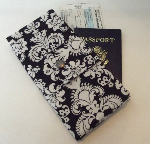 Dollbirdies Long Boarding Pass Passport Wallet by Dollbirdies