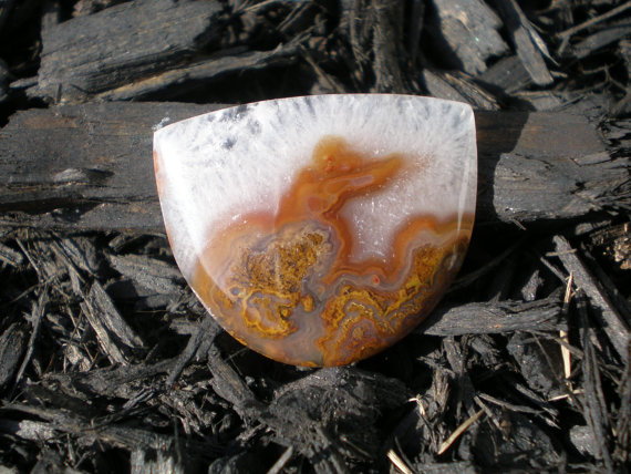 Agate Cabochon (A080415) by Foxcabochons