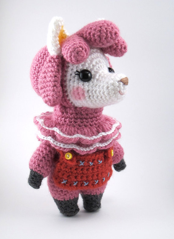Animal Crossing – Reese the Alpaca Instant Download Crochet Pattern by sarsler