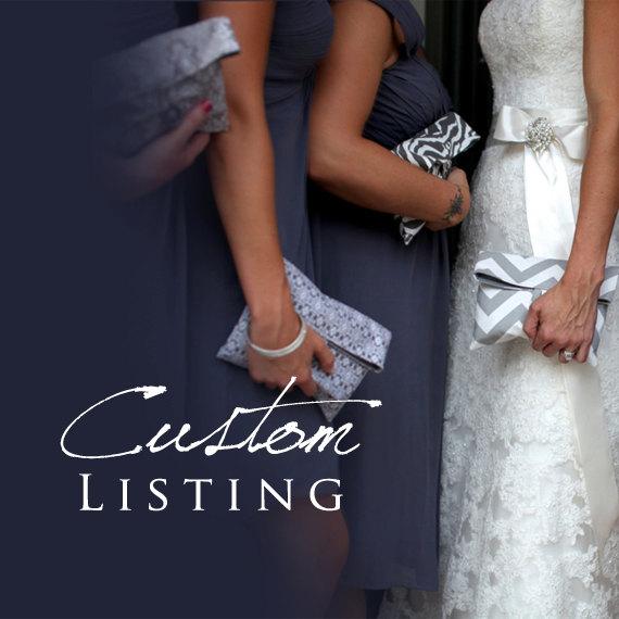 Custom Listing for BethAnn by BagsByLora