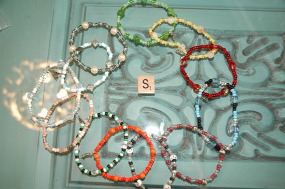 WHOLESALE LOT S OF 12 Single Loop Bracelet – Proceeds Benefit Cancer Research by myjewelsofhope