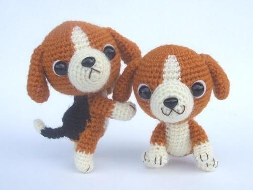 Beagle Puppy – PDF Crochet Pattern by jaravee